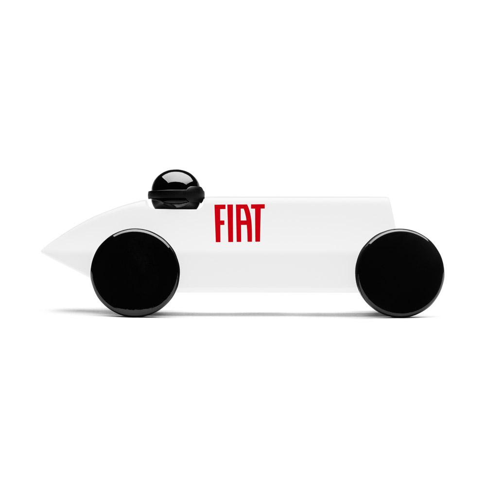 PLAYSAM|Mefistofele賽車FIAT(白)