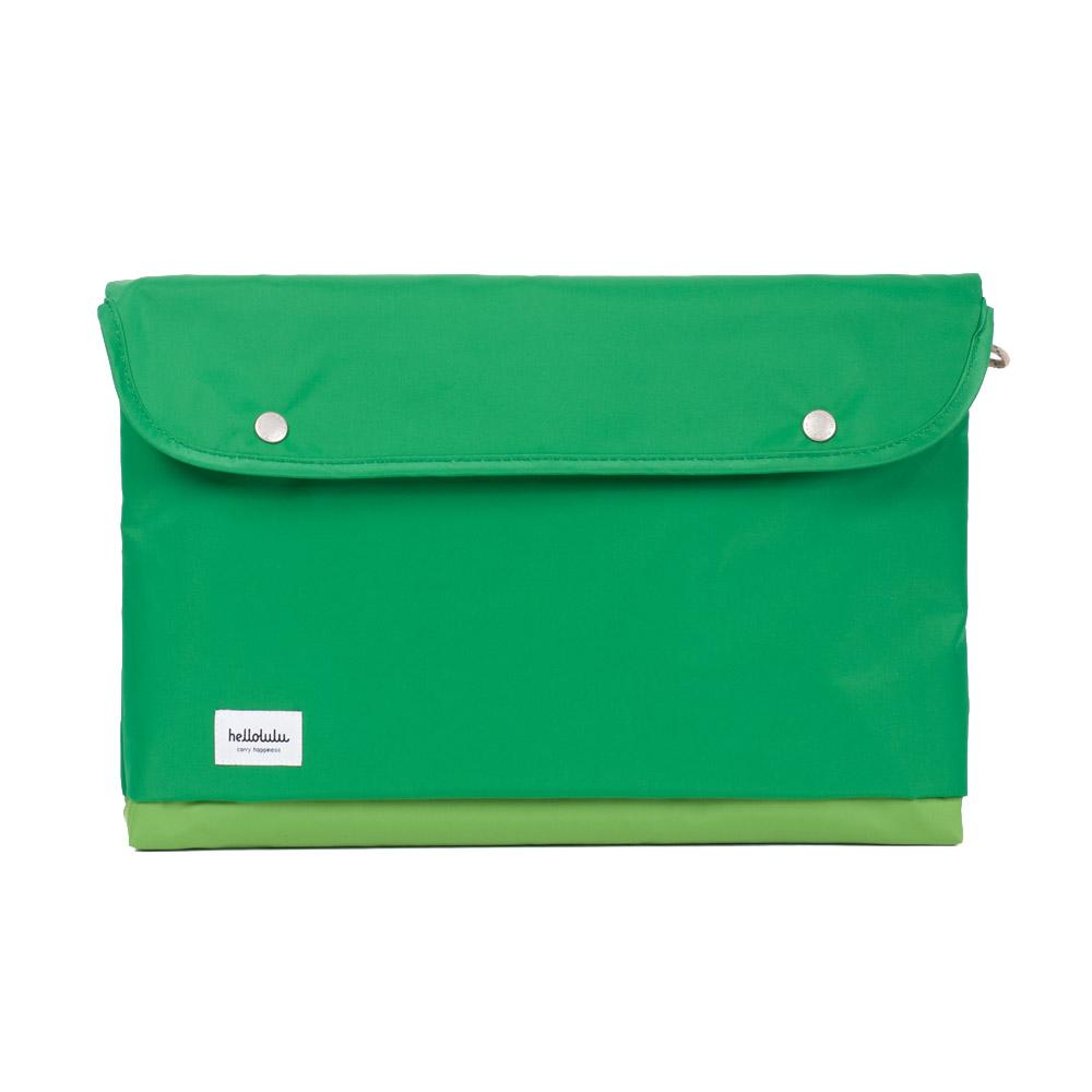 Hellolulu|Tess-15吋輕便手提電腦包(草綠)