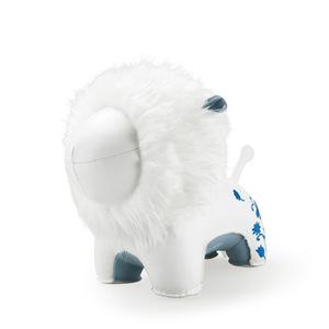 Zuny|獅子造型擺飾書檔(Limo-白色)