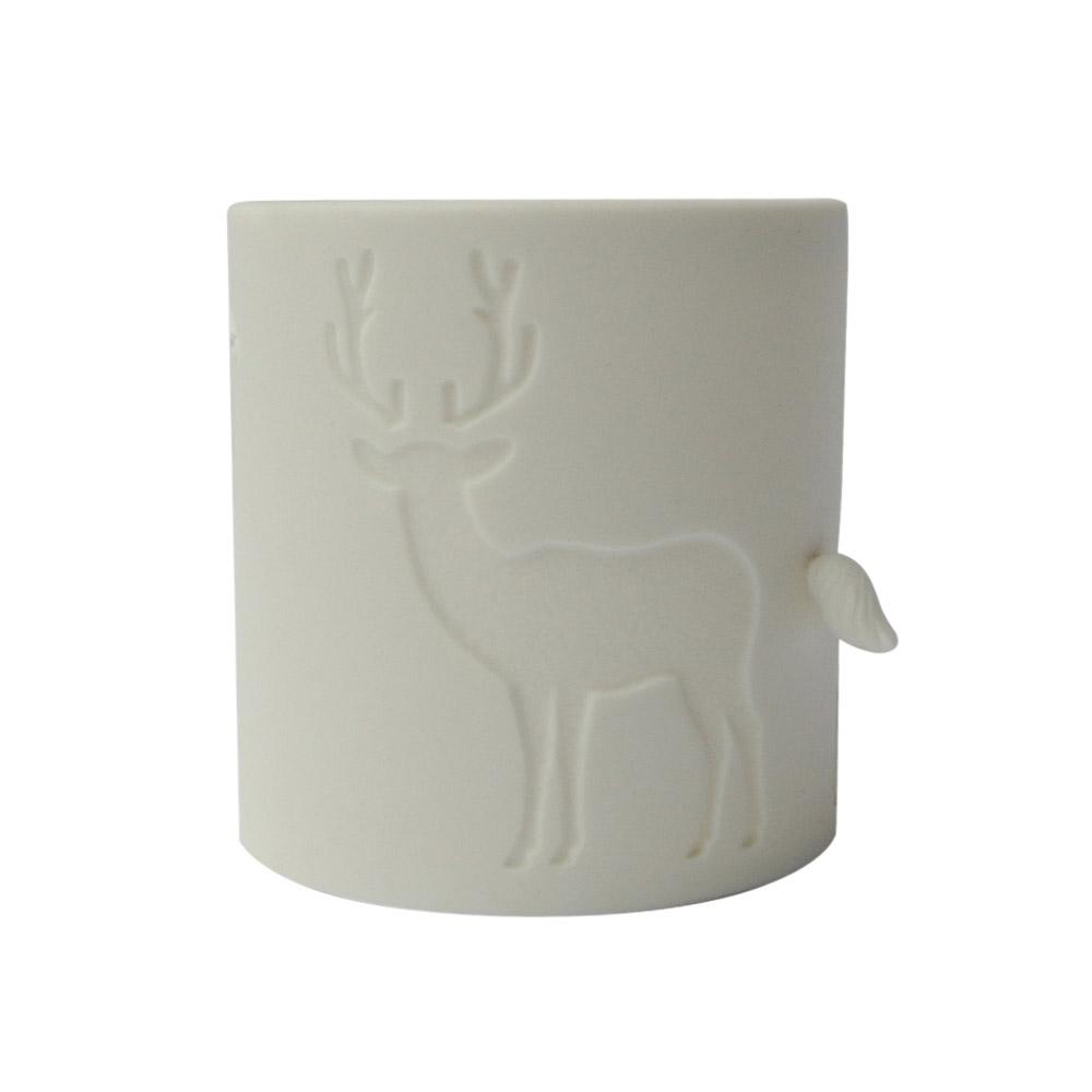 好合苑|馴鹿光韻茶杯-白色
