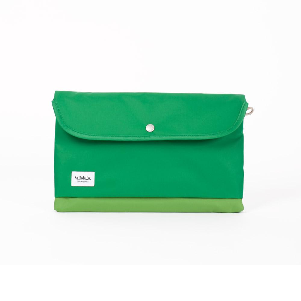 Hellolulu|Tess-11吋輕便手提電腦包(草綠)