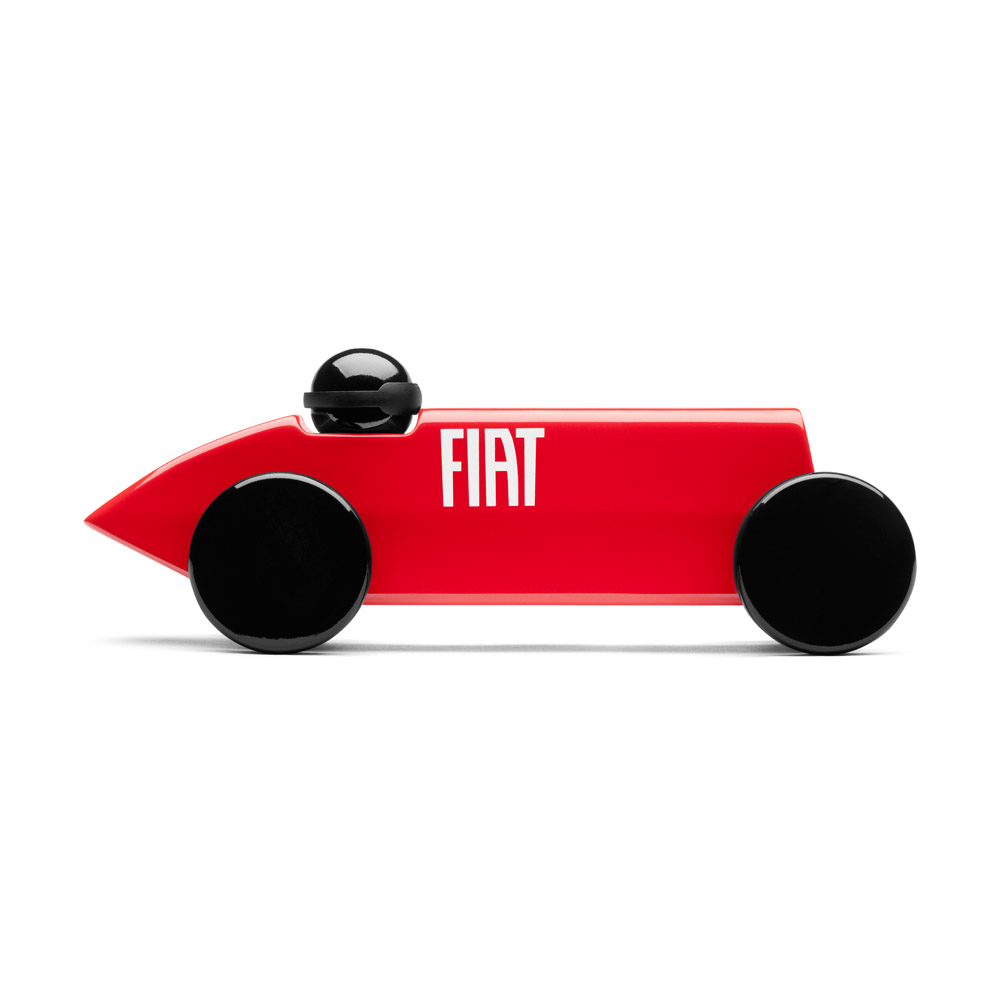 PLAYSAM|Mefistofele賽車FIAT(紅)
