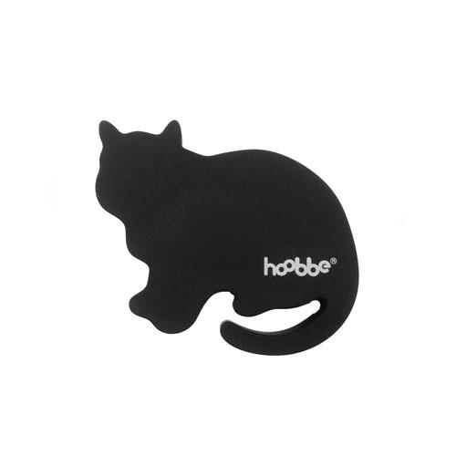 HOOBBE|趣味聲音杯墊(深灰貓)