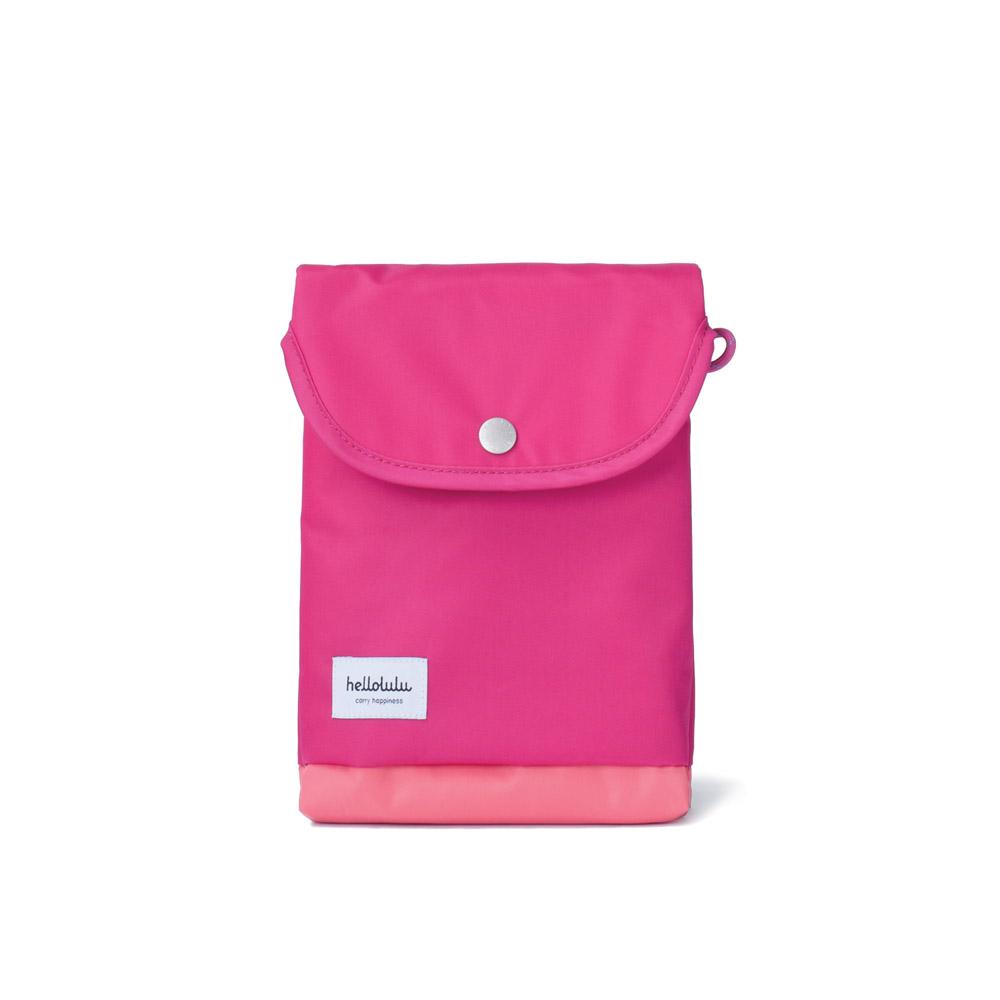 Hellolulu|Tess-iPad mini輕便手提包(莓紅)