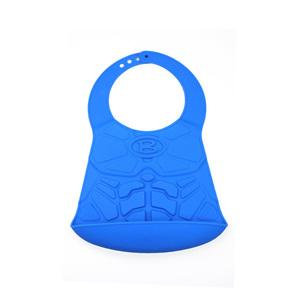 HOOBBE|英雄造型嬰兒圍兜(藍)