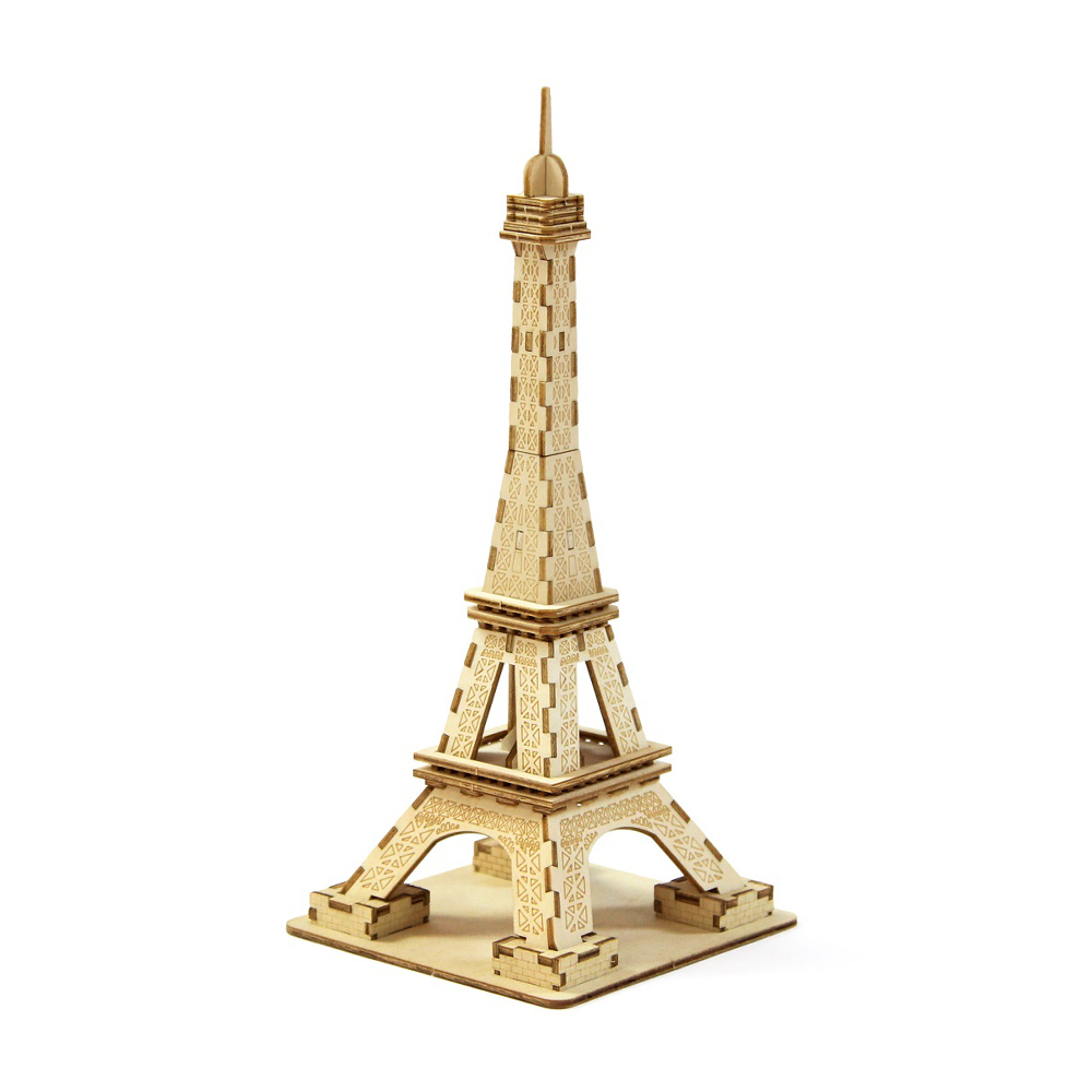 TEAM GREEN│木質3D拼圖-艾菲爾鐵塔