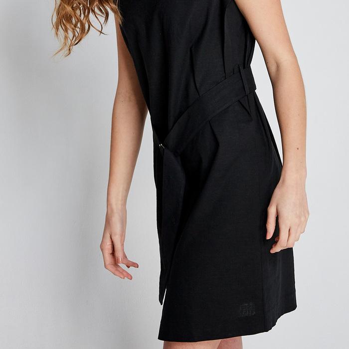design+|中國風黑連身裙(FIT1701DS01BK)
