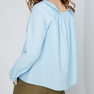 design+ 水藍中國風上衣(FIT1701TP04BL)