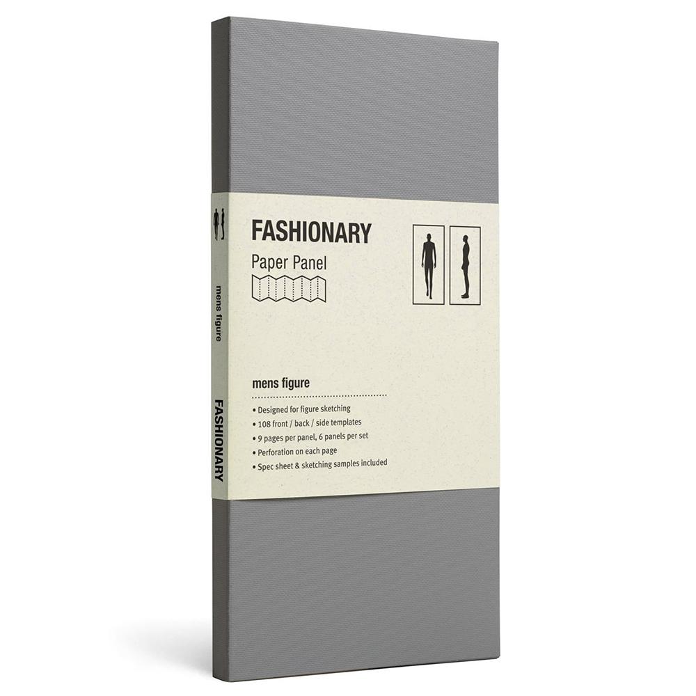 FASHIONARY|樣板卡/ 男版/ 身形