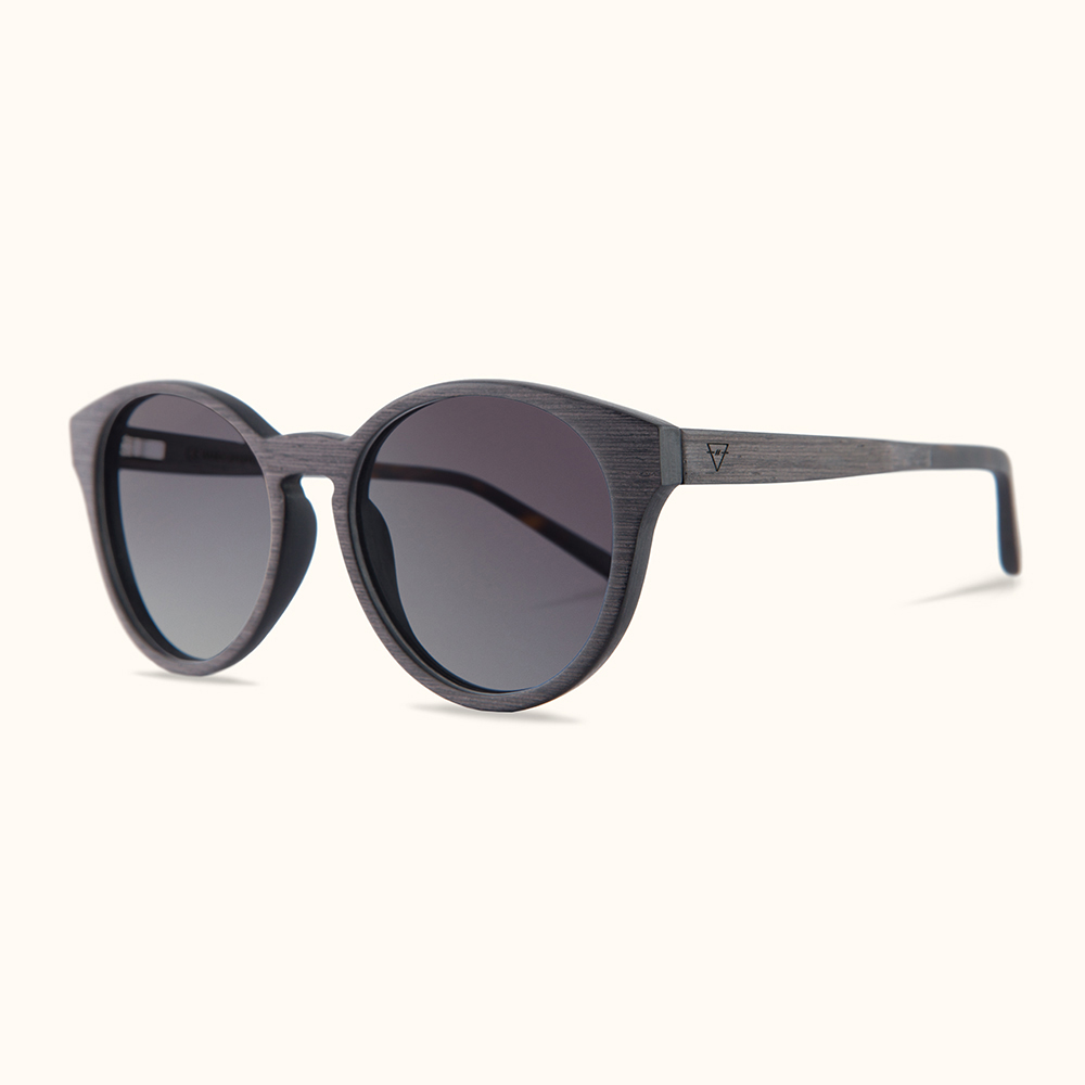 KERBHOLZ|原木太陽眼鏡 Leopold-黑木