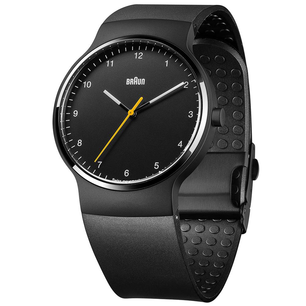 德國BRAUN百靈|尊爵系列極簡超薄石英錶 – 黑/黑