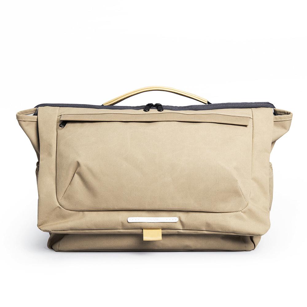 RAWROW 大地系列-15吋兩用經典帆布包(卡其)