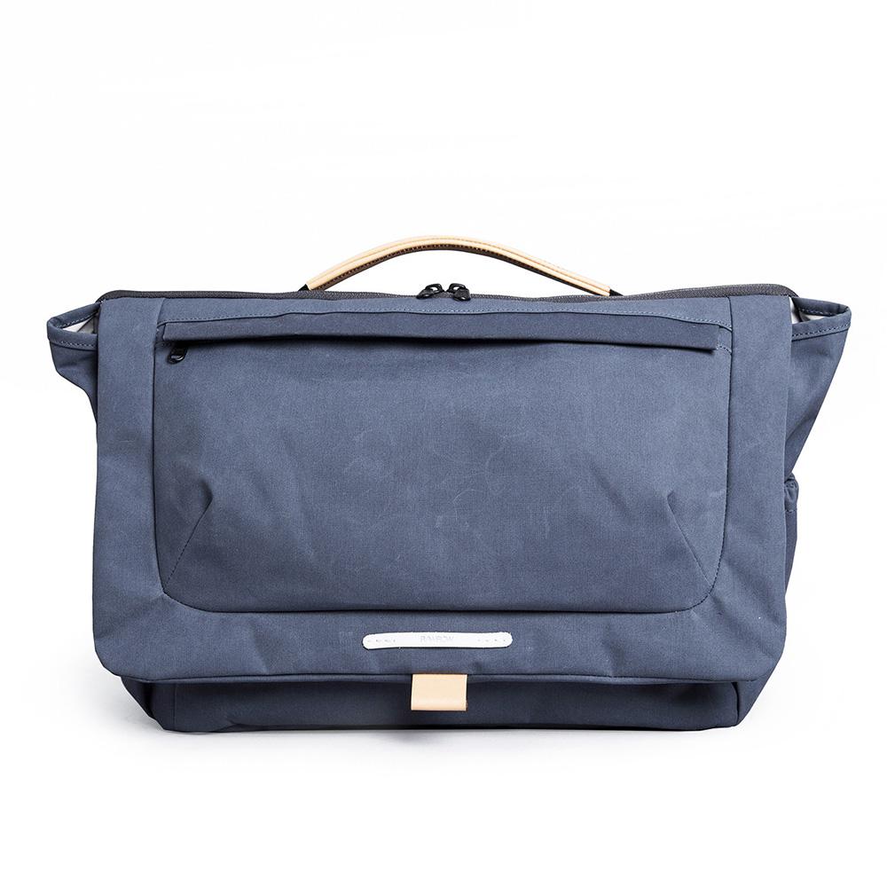RAWROW|大地系列-15吋兩用經典帆布包(靛藍)