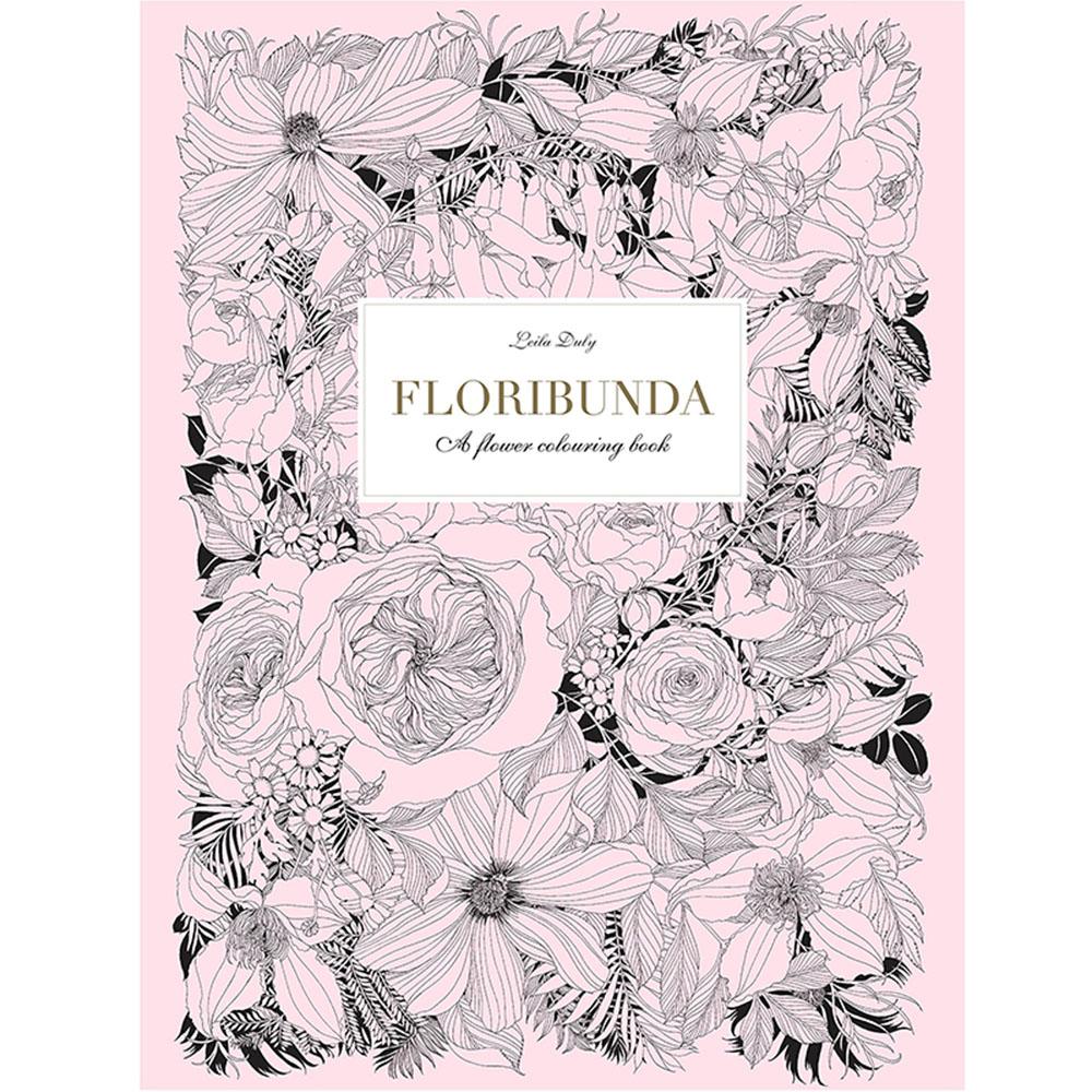 Laurence King Floribunda 繾綣豐花 - 手繪著色本(A4)