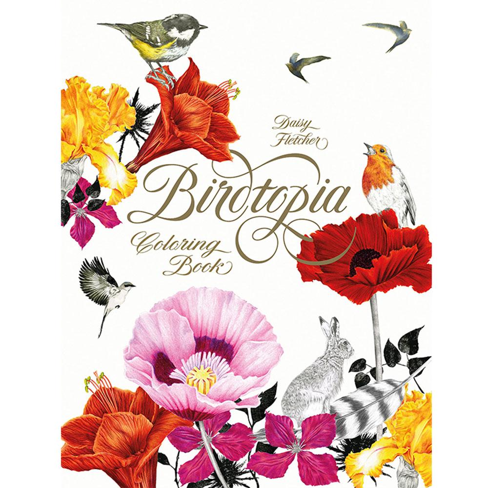Laurence King|Birdtopia 花鳥樂園 - 手繪著色本(A4)
