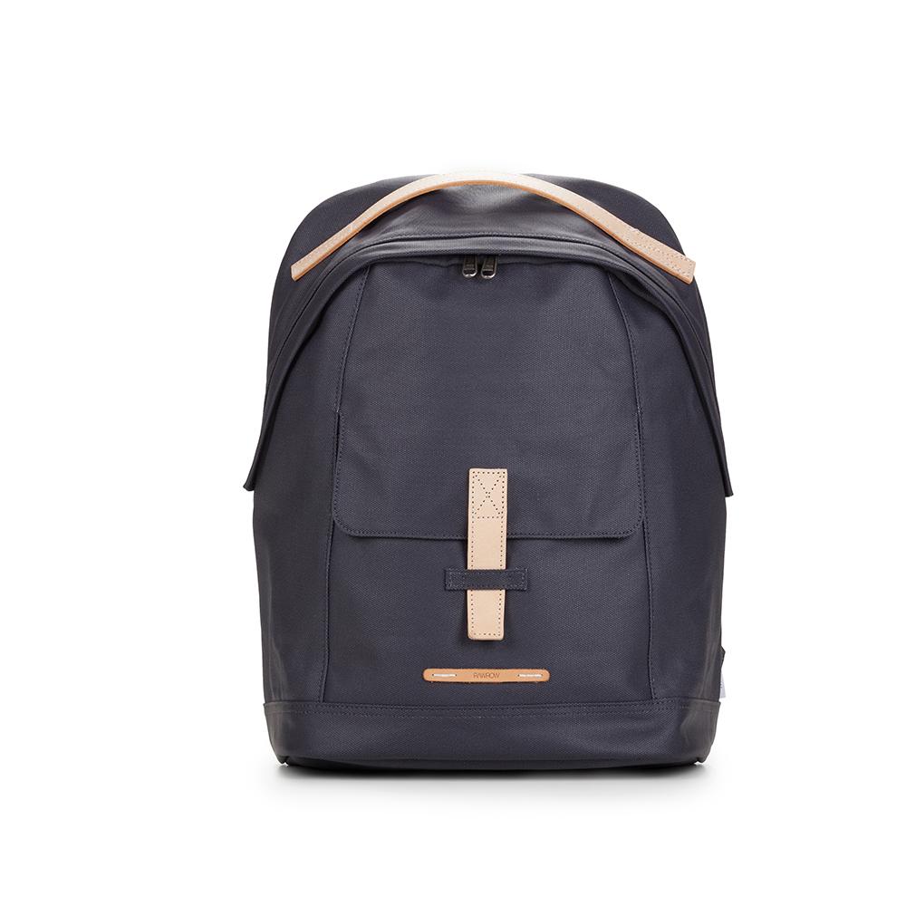 RAWROW|帆布系列-13吋個性後背包-靛藍-RBP431DN