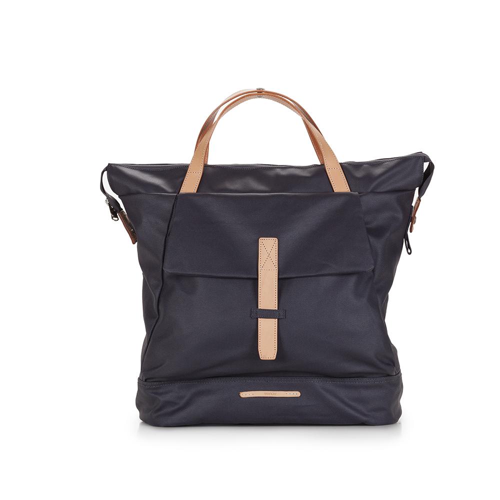 RAWROW|帆布系列-13吋俐落兩用後背包(後背/肩背)-靛藍-RBP550DN