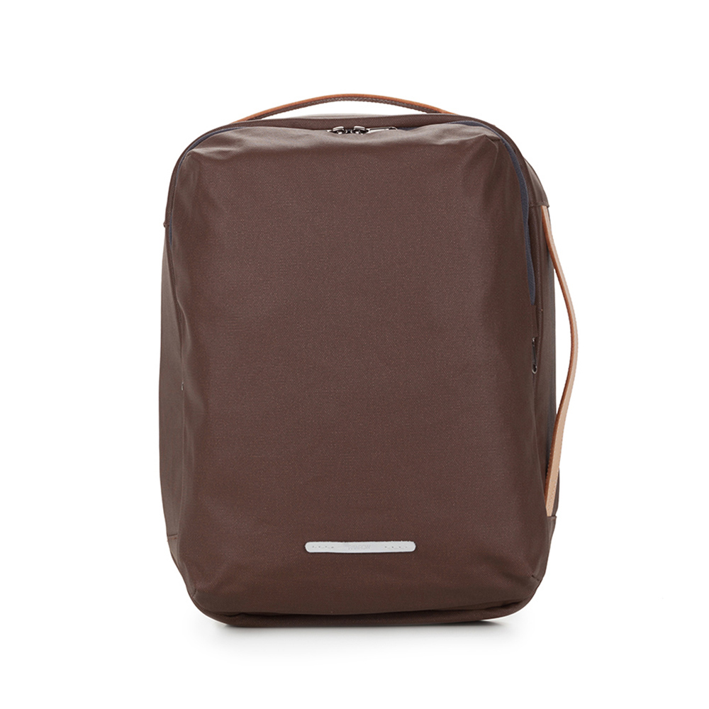 RAWROW|帆布系列-13吋三用經典後背包(後背/手提/肩背)-深棕-RBP270BR