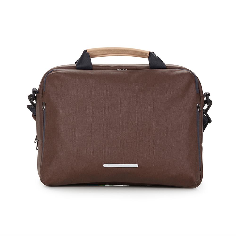 RAWROW|帆布系列-13吋三用簡約休閒包(手提/肩背/側背)-深棕-RBF120BR