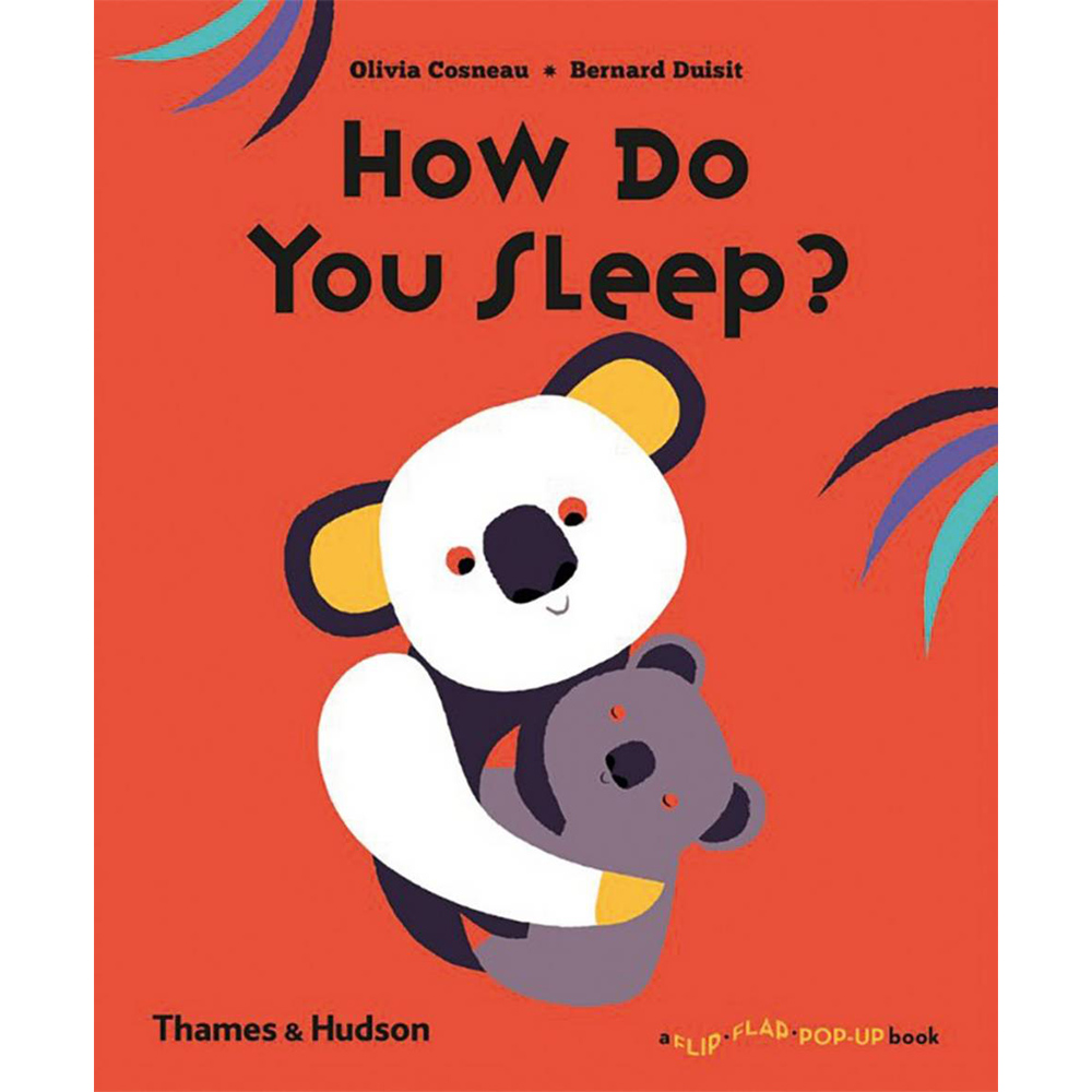 Thames & Hudson | 互動式拉頁書-How Do You Sleep?(建議年齡:1-3歲)