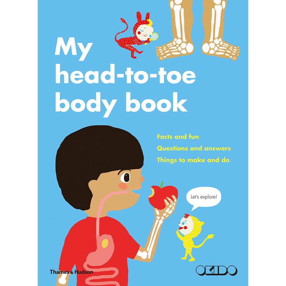 Thames & Hudson | 親子互動遊戲書-My Head-to-Toe Body Book (建議年齡:4歲以上)