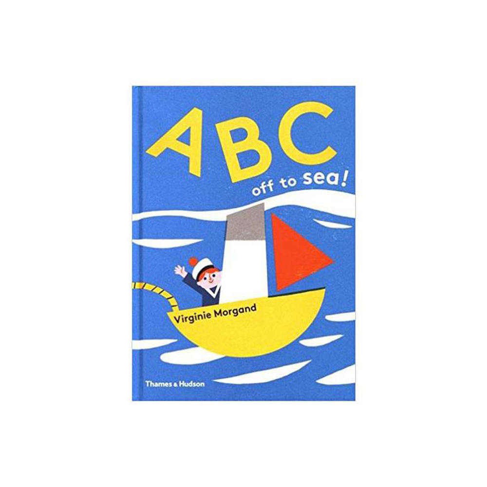Thames & Hudson | 英文啟蒙繪本-ABC: off to Sea!(建議年齡:3歲以上)