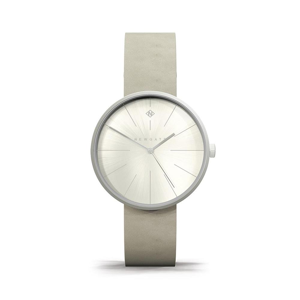 Newgate | NEW YORK-星空灰-皮革錶帶-40mm