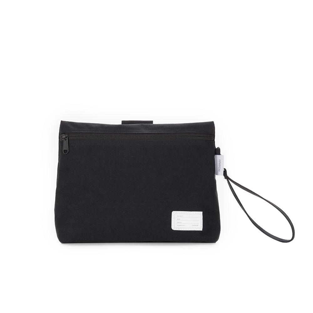 RAWROW|內袋系列-兩用收納袋(手拿/收納)-墨黑-RMD220BK