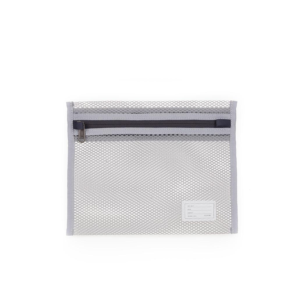 RAWROW 內袋系列-輕便網狀收納袋-岩灰-RMD230GR