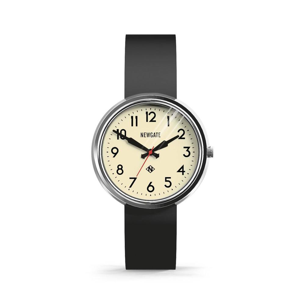 Newgate|ELECTRIC-經典復古-矽膠錶帶-41mm