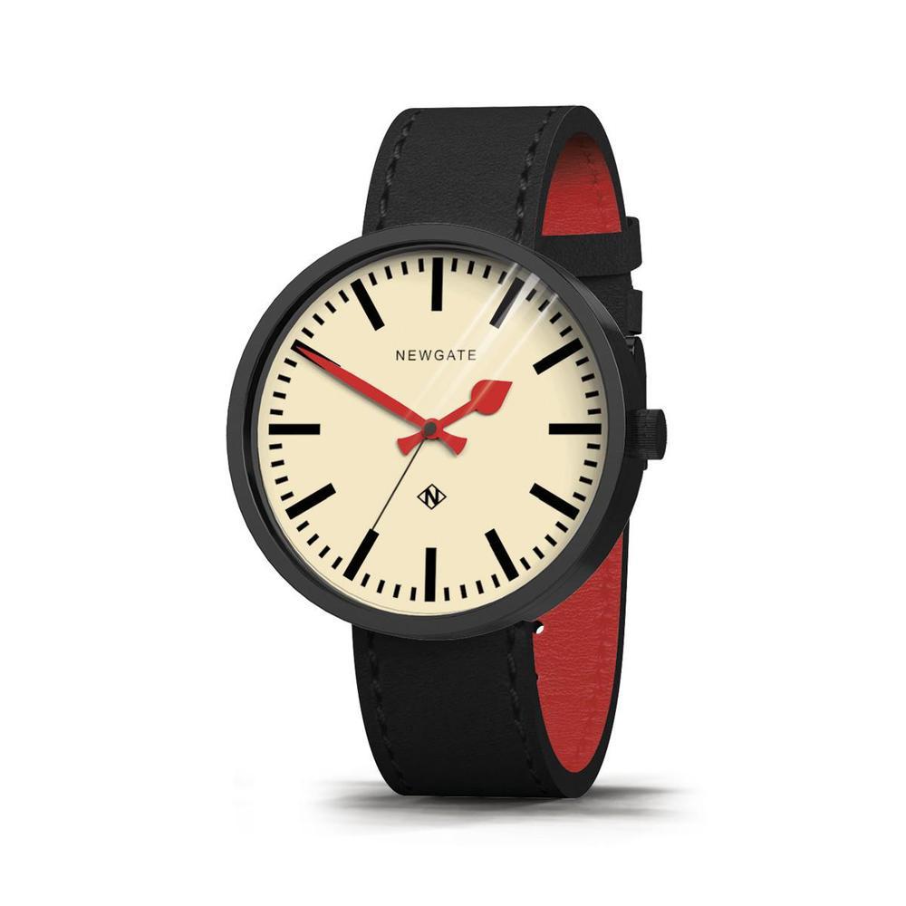 Newgate|DRUMMER-經典英倫-義大利皮革錶帶-50mm
