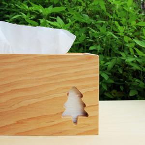 HappyWood|台灣檜木小樹衛生紙盒