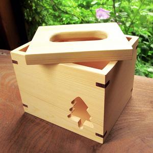 HappyWood|原木小樹方形衛生紙盒