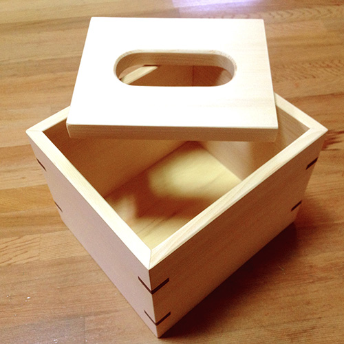 HappyWood|原木方形衛生紙盒