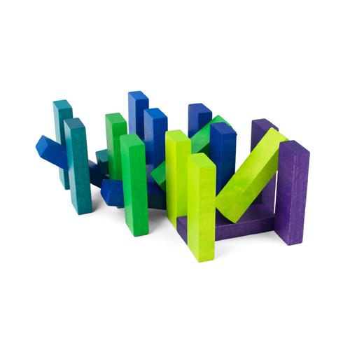 playableART|Coaster Cube-Sea積木杯墊-海洋