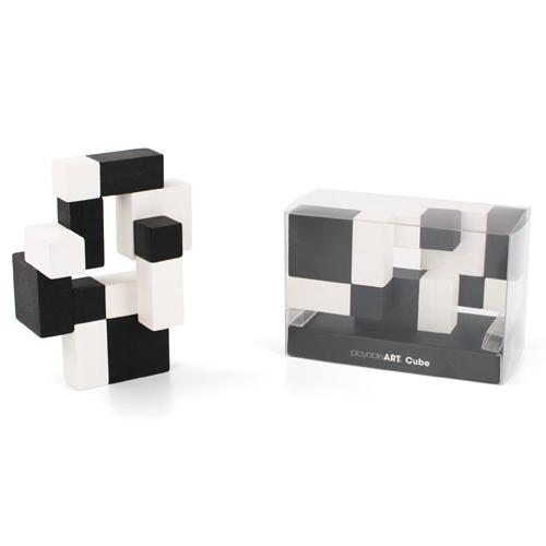 playableART|Cube-Yin-Yang 陰陽-黑白方塊
