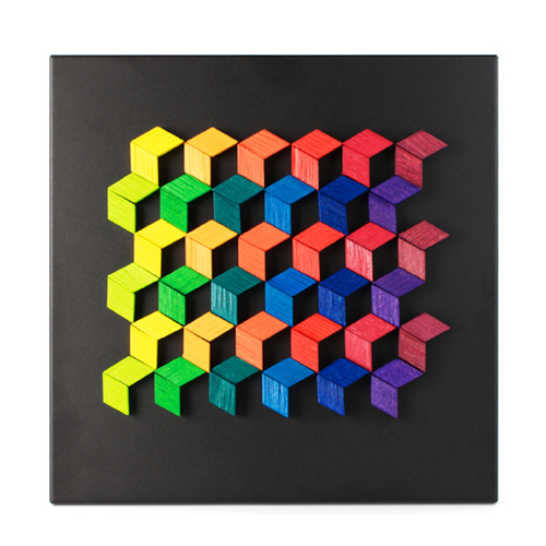 playableART Magnet Relief - Diamond藝智浮雕-菱形72片