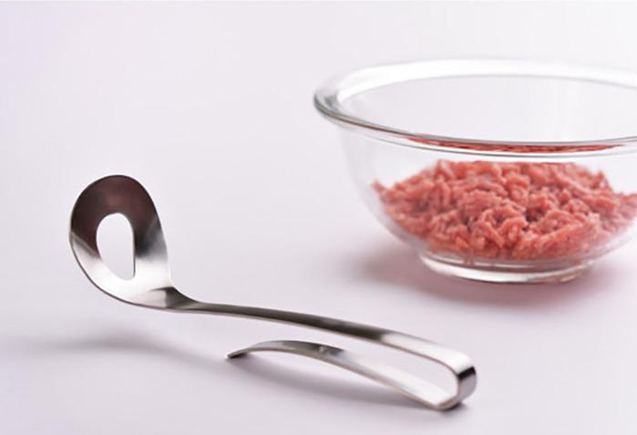 日本製造【AUX】絞肉壓勺 LS1510