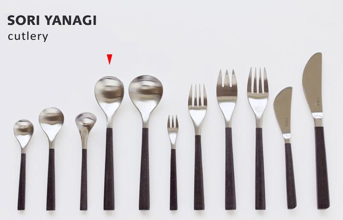 柳宗理-樺木點匙(18cm)-日本大師級商品-W4