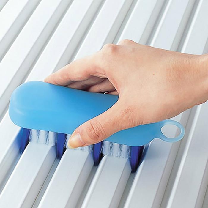 日本品牌【MARNA】「掃除達人」浴缸蓋清潔刷
