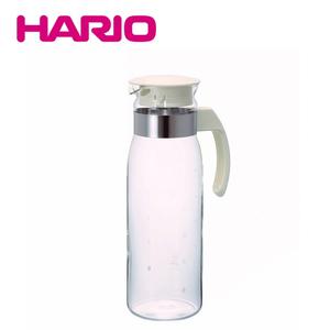 【HARIO】耐熱抗菌 玻璃冷水壼1400ml (白色)