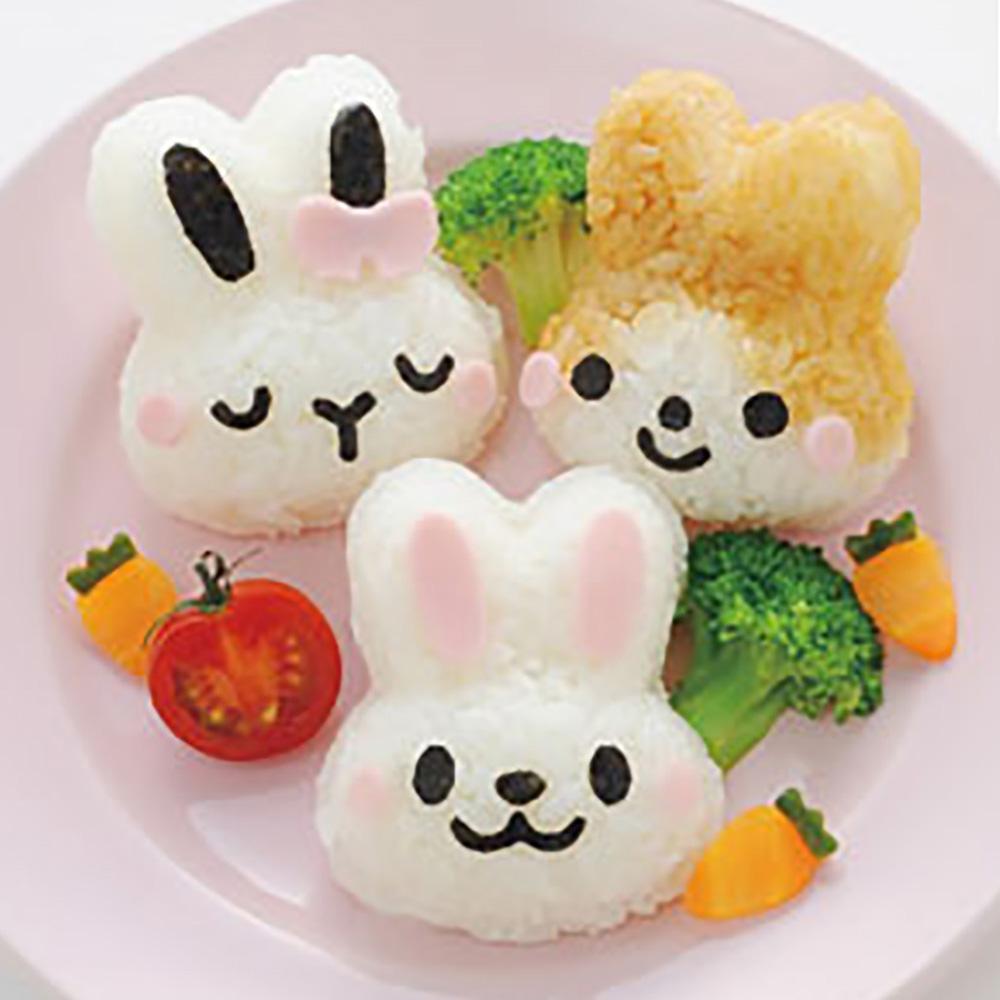 Arnest   兔子造型飯糰模