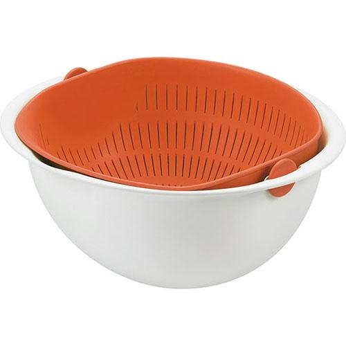 曙產業 | 搖蓋式洗米籃(M) MZ-3512