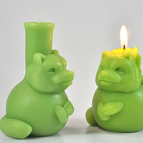 together|煉金術師小狸香氛蠟燭(綠色/森林精靈)