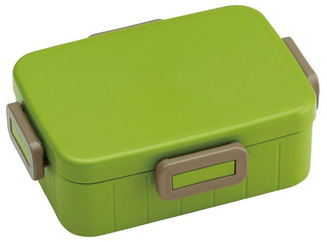 Skater|日本製 無印風便當盒 保鮮餐盒 650ML-原野綠