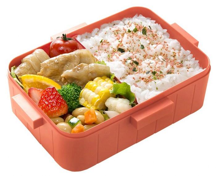 Skater 無印風便當盒 保鮮餐盒 650ML-粉紅
