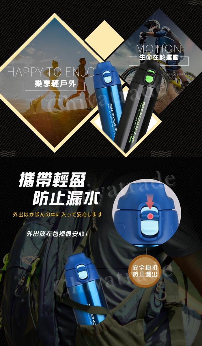 (複製)日本孔雀Peacock|運動登山戶外保冷專用水壺2.0L大容量附背帶-橘