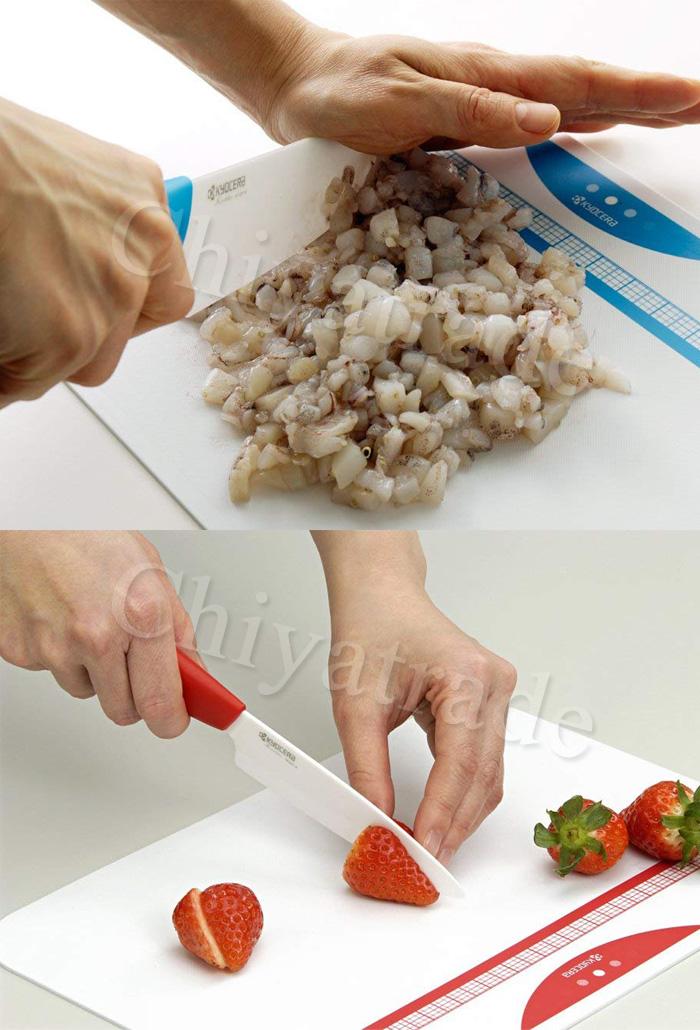 (複製)KYOCERA日本京瓷|抗菌陶瓷刀 削皮器 砧板 計時器 超值5件組-粉色