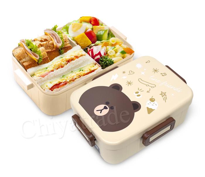 (複製)Skater|無印風便當盒 保鮮餐盒 650ML-兔兔