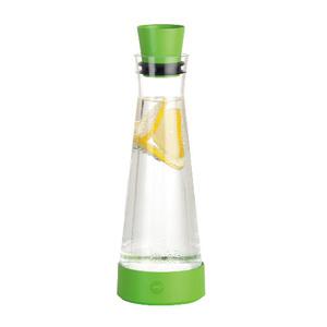 【德國EMSA】頂級玻璃保冷水瓶 含保冰裝置 德國原裝進口(保固2年)-原野綠